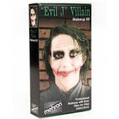 Evil Joker - Mehron Deluxe Makeup Kit