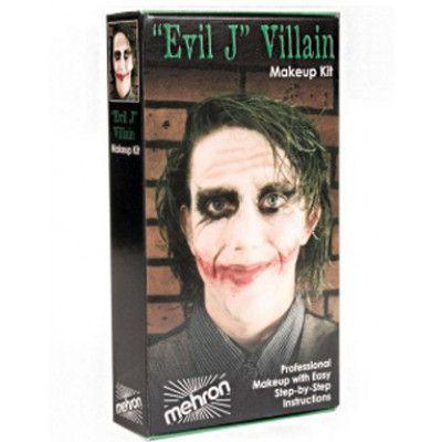 Evil Joker - Mehron Deluxe Makeup Kit