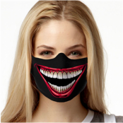 Joker Smile Face Mask, TEXTILE FACE MASK