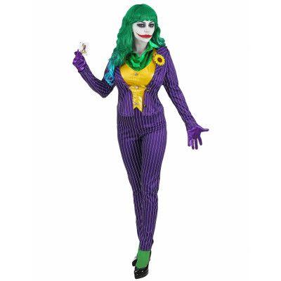 Mad Joker Inspirerad Dräkt till Dam