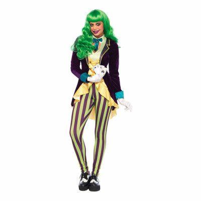Wicked Joker Dam Deluxe Maskeraddräkt - X-Small