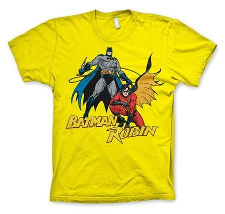 dffe24694b1e Batman & Robin T-Shirt, Basic Tee - Batmanbutiken