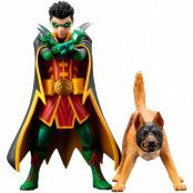 DC Comics - Robin & Ace the Bat-Hound 2-Pack - Artfx+